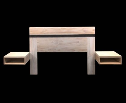 timber bedhead floating side tables australia SRTW